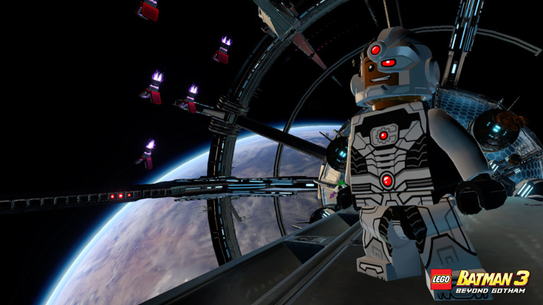 Gameplay even takes place in space!