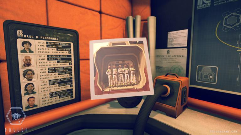 P.O.L.L.E.N – Research base Station M Personnel Data