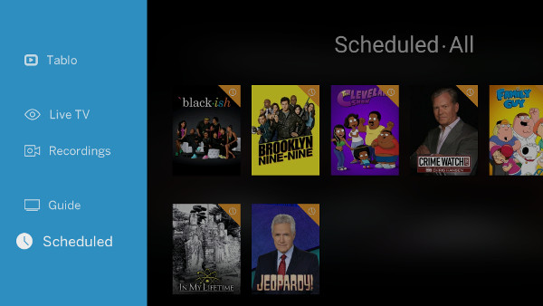 TabloTV is another app for viewing live TV that works great on NVIDIA SHIELD.