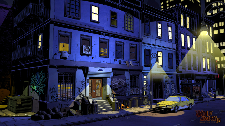 The Wolf Among Us - Tenement Building in South Bronx