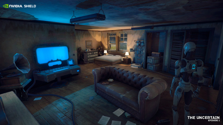 Gripping Post-Apocalyptic Adventure The Uncertain Hits NVIDIA SHIELD