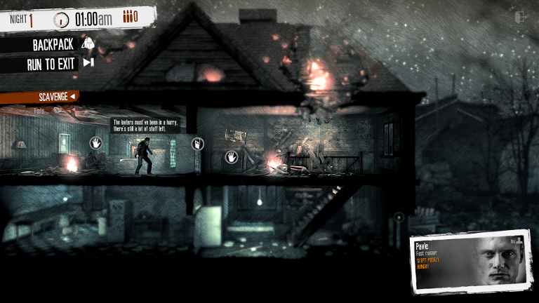 Play This War of Mine on SHIELD!