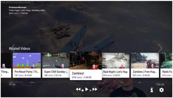 Twitch for SHIELD Android TV