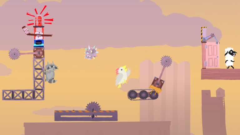 Ultimate Chicken Horse Delivers Over-the-Top Multiplayer Mayhem to SHIELD