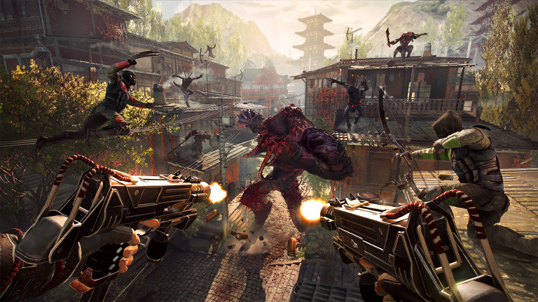 Unlock over 70 devastating weapons in Shadow Warrior 2!