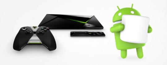 Android 6.0 Marshmallow kommt auf SHIELD Android TV