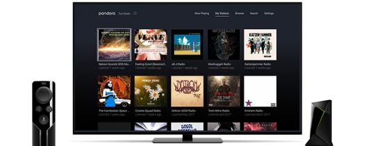 Pandora is one of the best music streaming apps for the SHIELD Android TV Box
