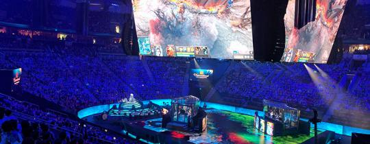 Why go to the DOTA 2 TI 2017 Final JUST to watch total strangers play video games? It's incredible. That's why. Welcome to a day in the eSports DOTA 2 Grand Finals.