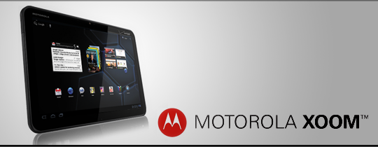 The Motorola Xoom is available now