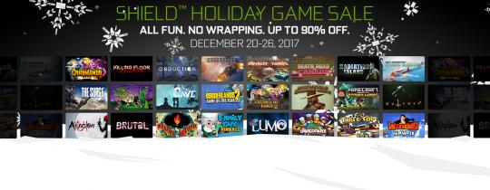SHIELD Holiday Game Sale