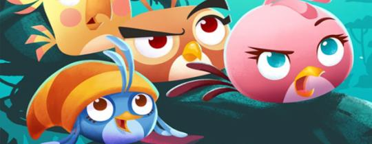"""""""Angry Birds Stella"""" Serie ist Top"""