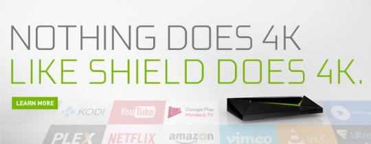 Stream 4K Content and Movies on NVIDIA SHIELD