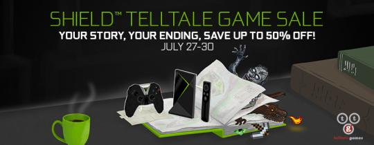 Keep your cool while deciding your fate in an engrossing Telltale adventure game on NVIDIA SHIELD. You'll save up to 50% on a season pass!