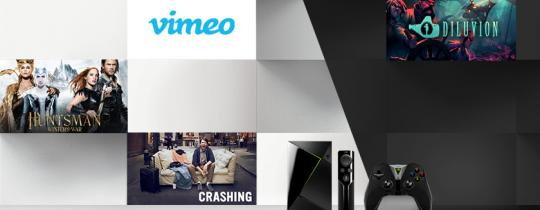 """This week, we're excited about the game, Diluvion on GeForce NOW, Vimeo with 4K content, the TV Show """"Crashing"""" on HBO NOW, and """"The Huntsman: Winter's War"""" for rent on Google Play and Fandango, and streaming on HBO NOW."""