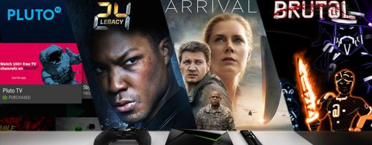 "This week, we're excited about the game, Brut@l on GeForce NOW, Pluto TV, ""Arrival"" on Amazon Video, Google Play, and VUDU, and ""24 Legacy"" on Hulu."