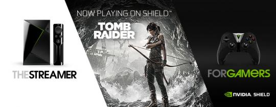 Tomb Raider: Oplev genfødslen på NVIDIA SHIELD-TV