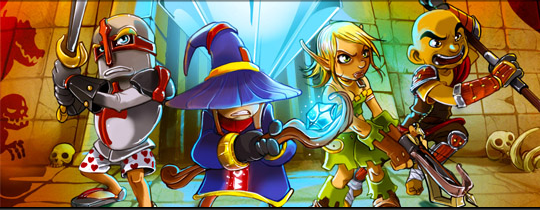 Dungeon Defenders: The console experience on Tegra